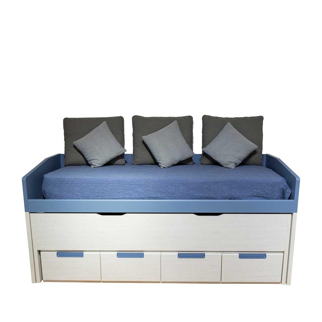 cama juvenil dupla