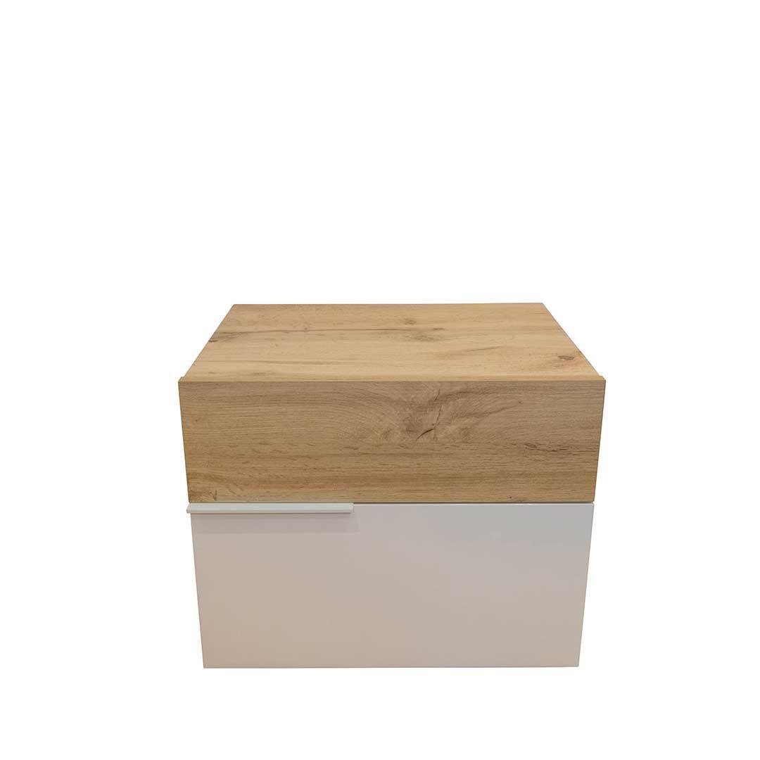 mesa de cabeceira branca