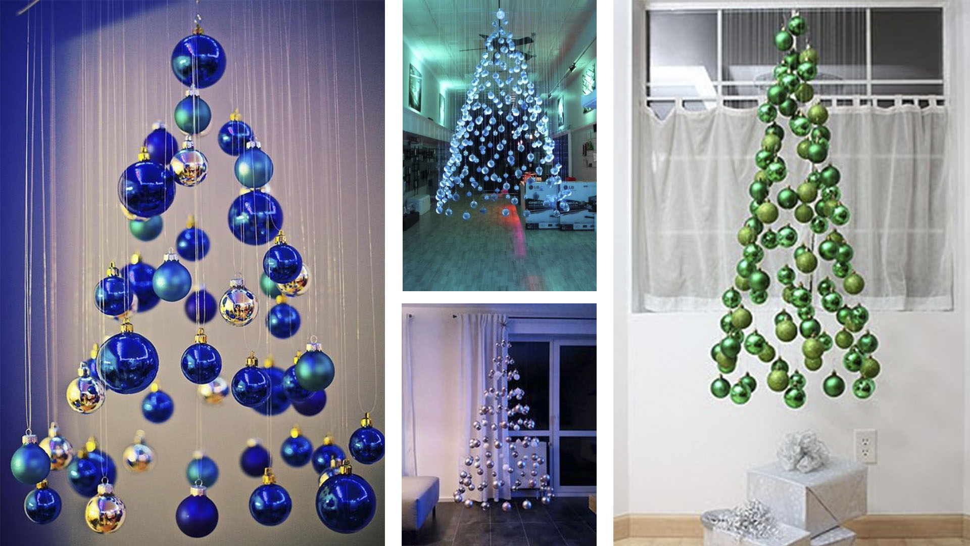 Árvore de Natal – 4 ideias diferentes para a sua casa